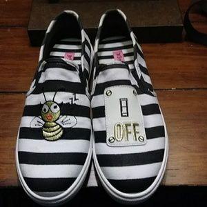 Betsey Johnson Sneakers.
